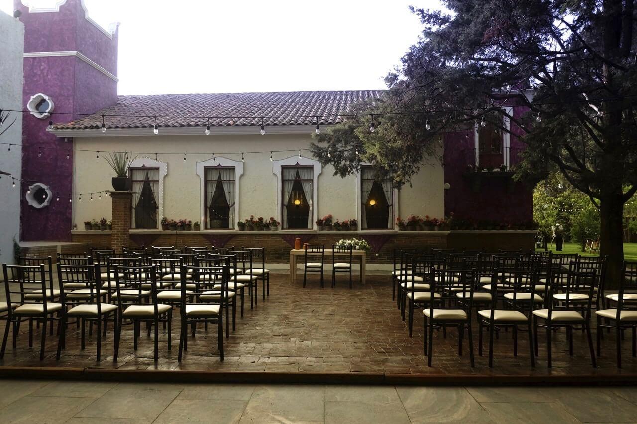 Salón jardín en Puebla