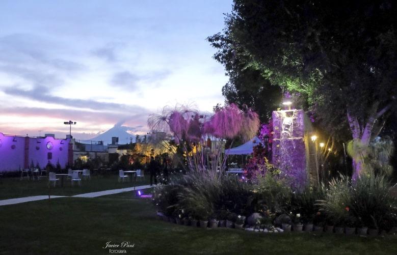jardines para fiestas en Puebla